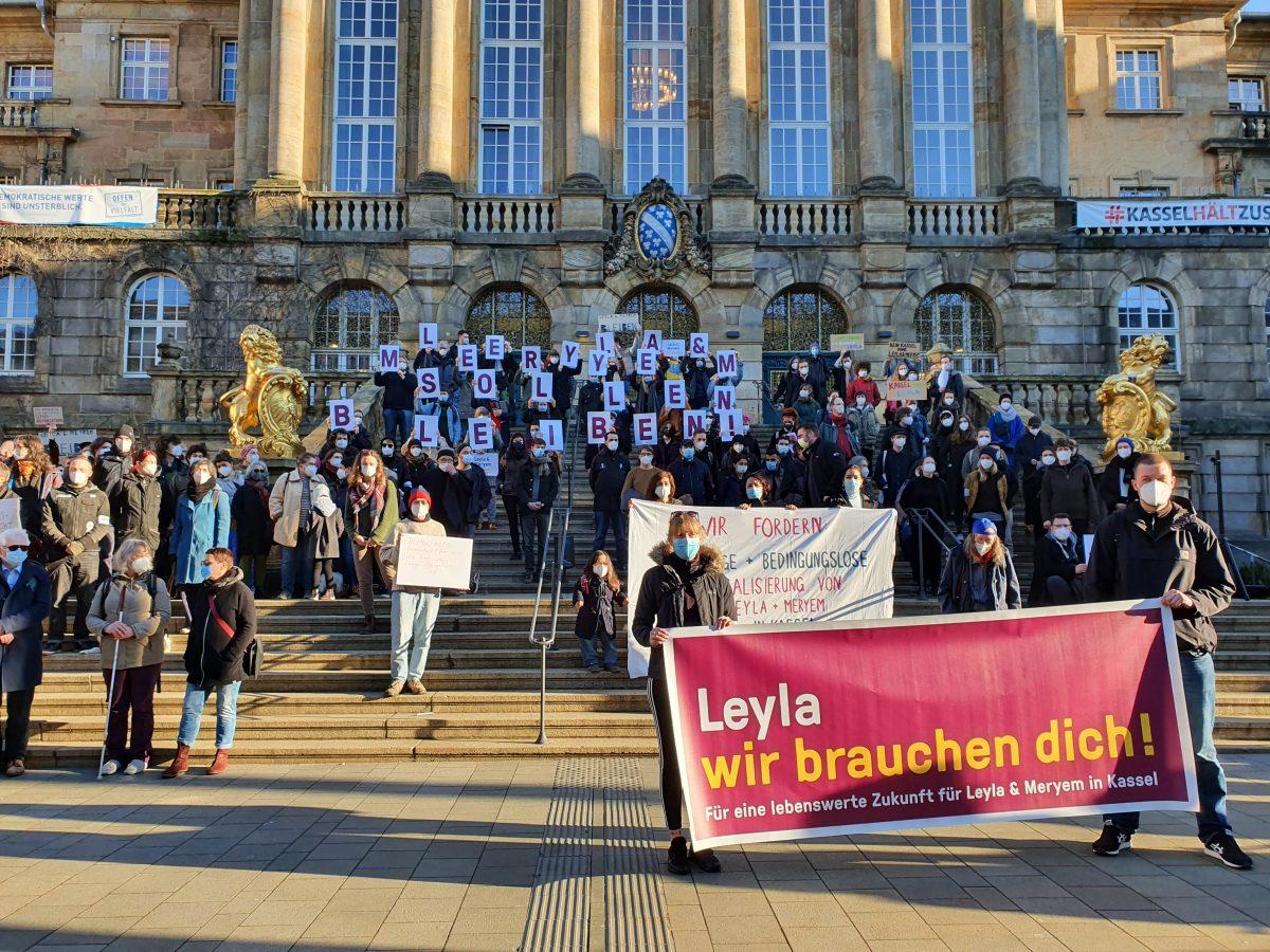1.3. Kundgebung vor dem Rathaus Kassel